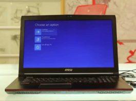 как запустить ноутбук MSI