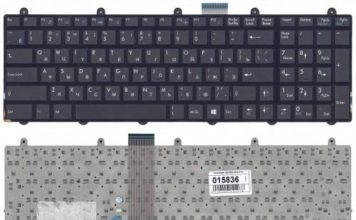 Как снять клавиатуру с ноутбука MSI ge70?