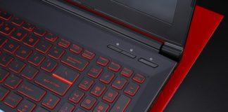 Кнопка включения ноутбука MSI