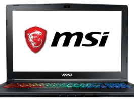 MSI ноутбук восстановление системы