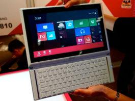 MSI сенсорный ноутбук