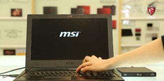 как переустановить ноутбук MSI