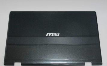 корпус для ноутбука MSI