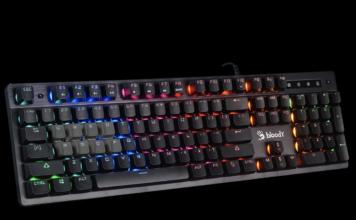 Клавиатура A4Tech Bloody B500N